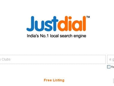 Justdial businesses or individuals