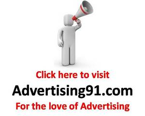Advertising footer