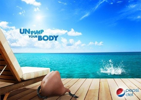 Creative Pepsi print ads 1