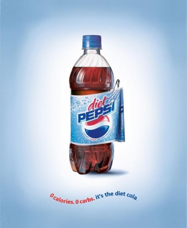 """pepsi print ad analysis Anita watts pca200 july 2013 diet pepsi print ad context – what, where, why content – what do we see style – how the image gets the audience attention diet pepsi print ad - content things woman background diet pepsi can text and logo diet pepsi print ad - content all text is to the right of the woman and the can sip draws attention """"o"""" is a heart message share sofia's love of diet."""