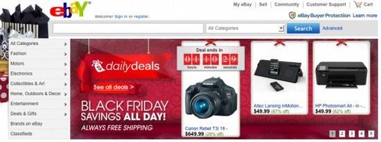 Ebay marketing mix