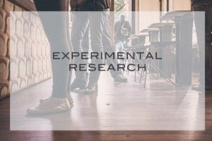Experimental research - 2