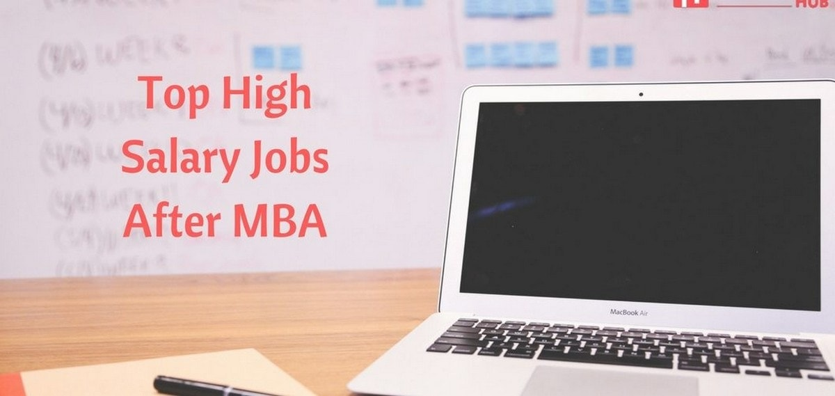 job after MBA - 1