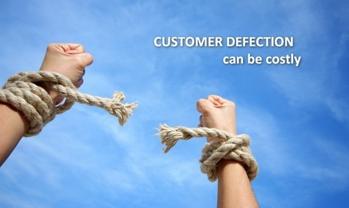 Customer defection rate