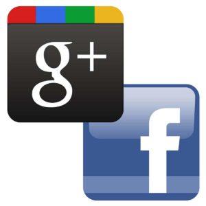 Google plus vs facebook - 2