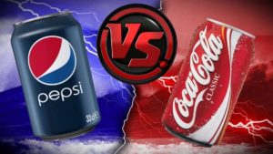 Coke vs Pepsi in 7 print ads
