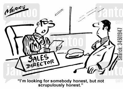 Sales myth 2 - Honesty