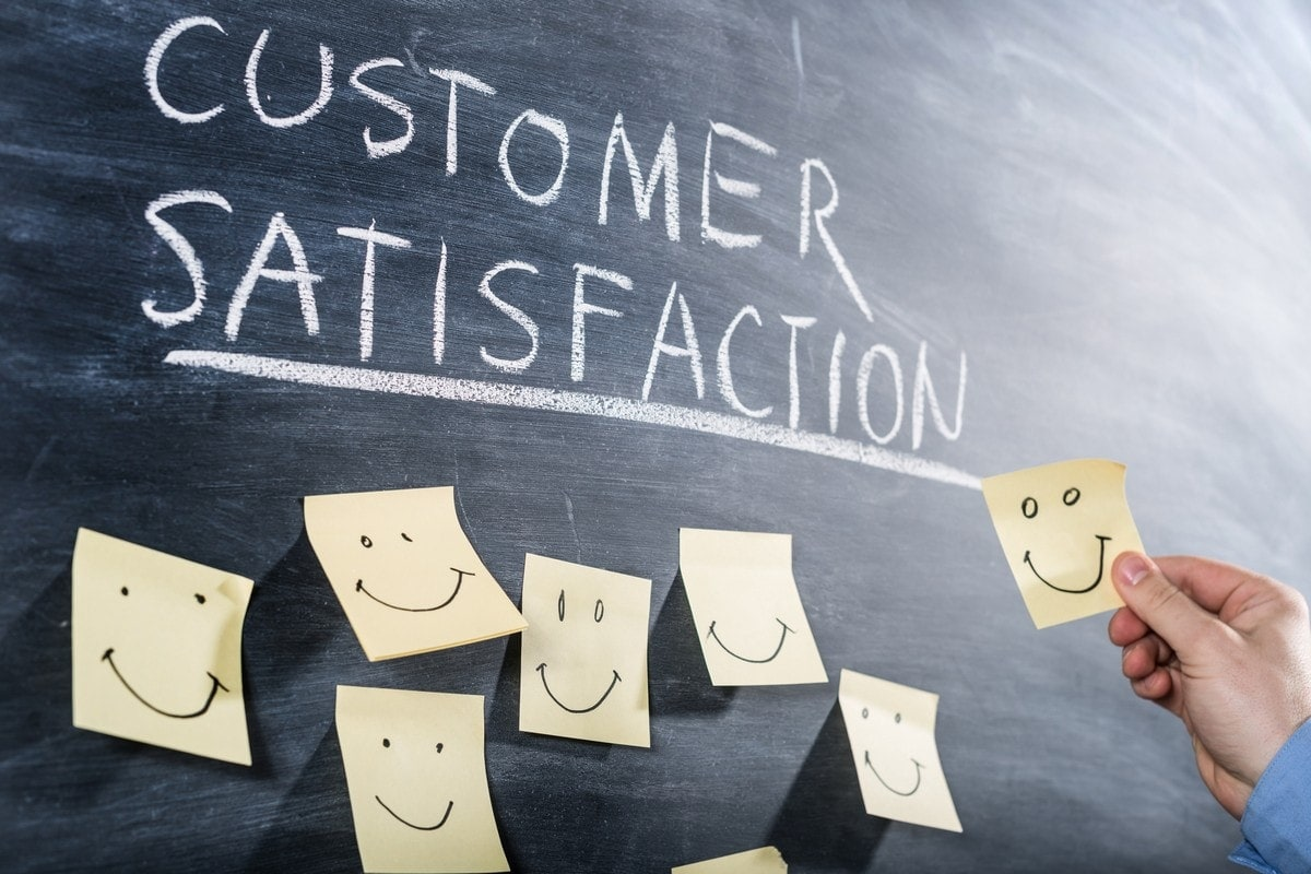 Customer satisfaction questionnaire – Usage in feedback and idea generation