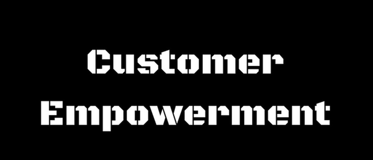 Customer empowerment 2
