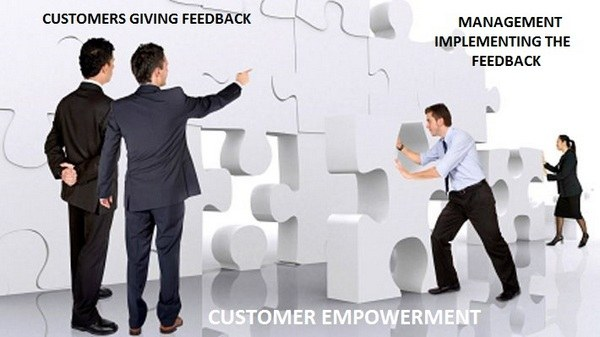 Customer empowerment