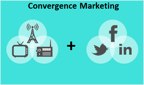 The use of Convergence marketing for better reach