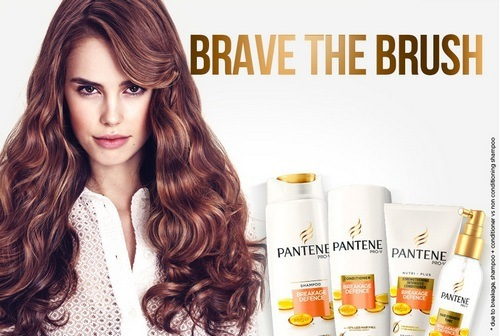 Pantene brand identity