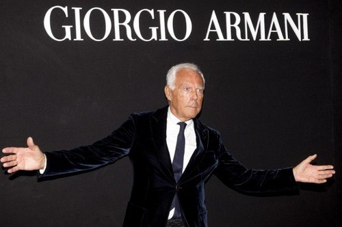 Marketing mix of Armani - 1