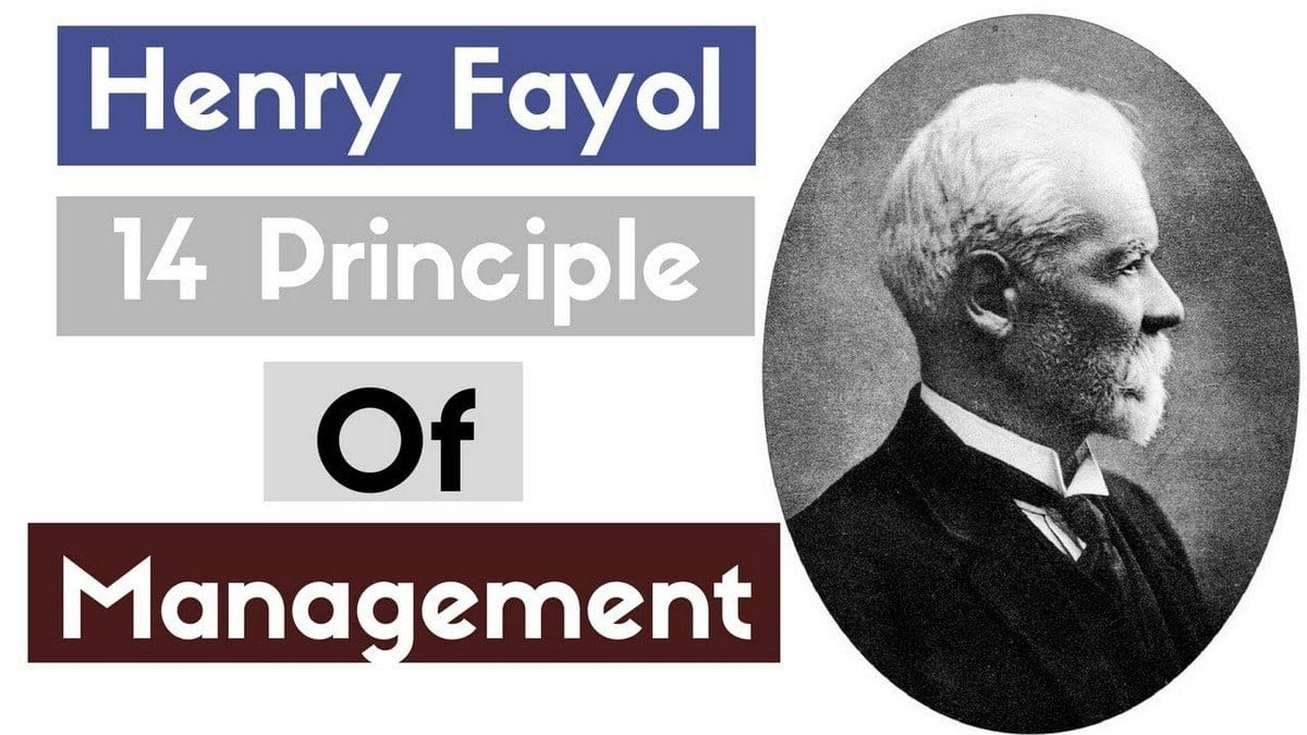 Henri fayols 14 principles of management - With examples and application