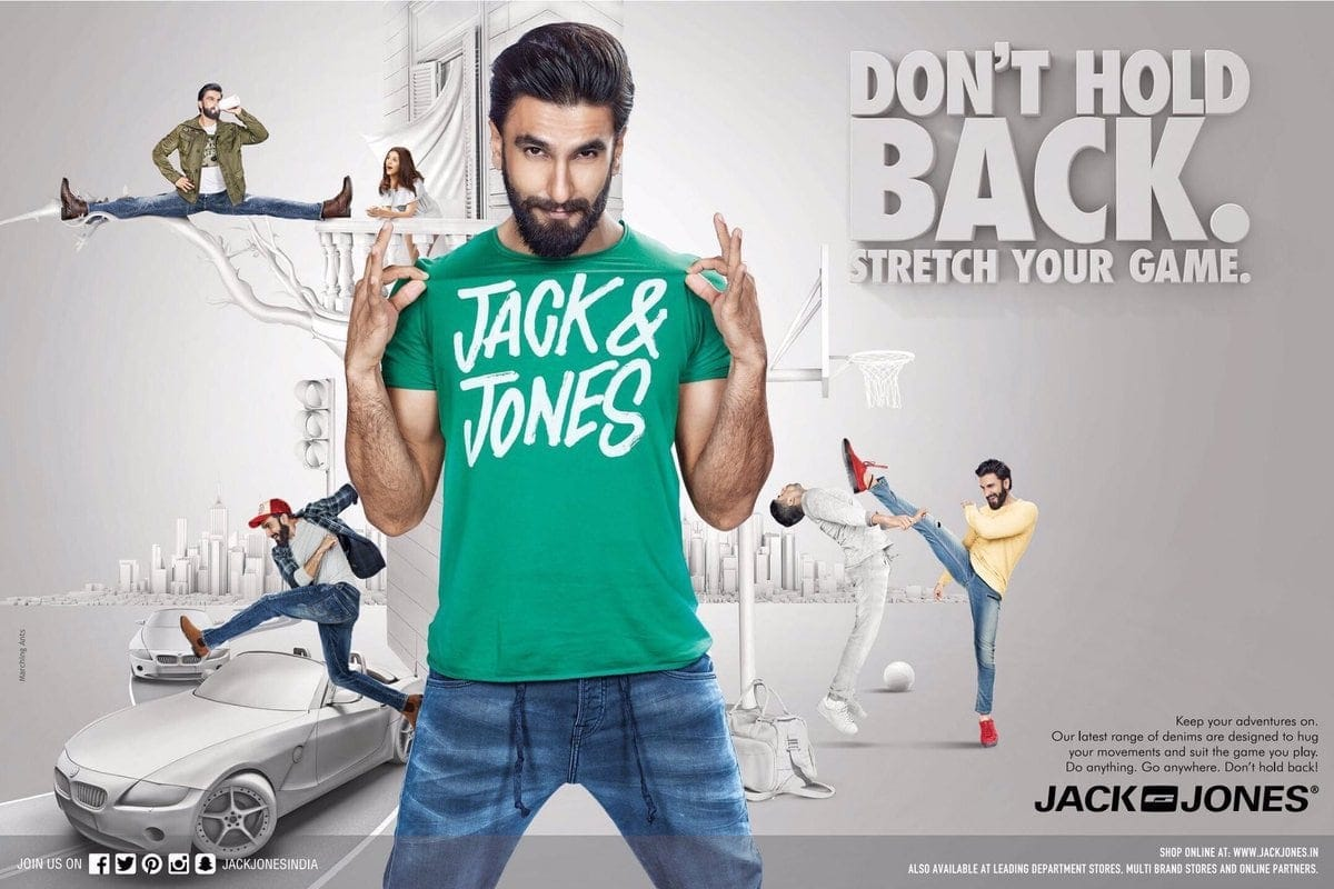 Marketing Mix Of Jack And Jones
