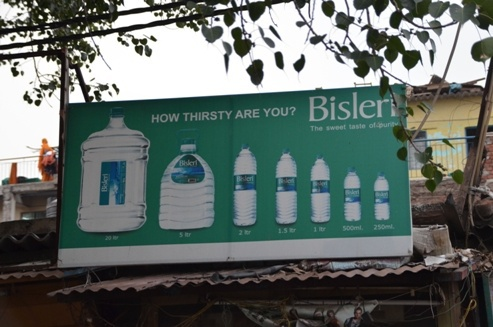 POP in promotions of Bisleri