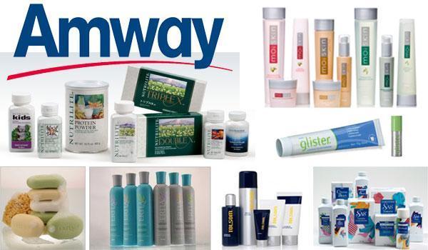 Marketing mix of Amway