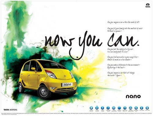 Promotions in the Marketing mix of Tata Nano