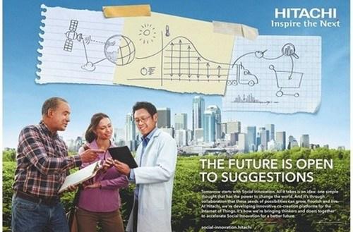 marketing mix of Hitachi2