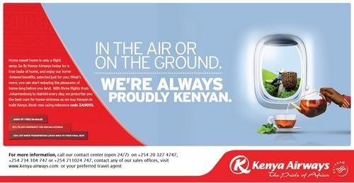 Marketing Mix Of Kenya Airways 2