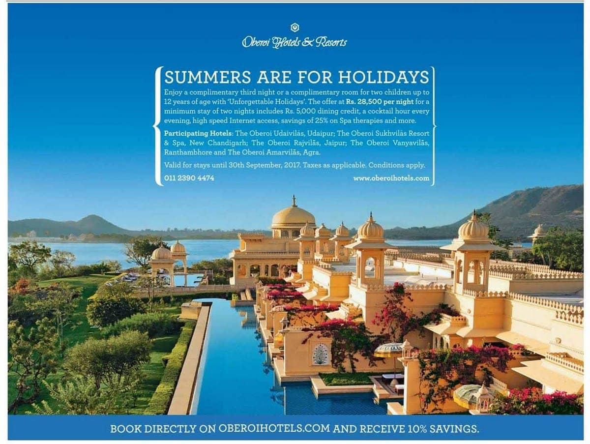 Marketing Mix Of Oberoi Hotels