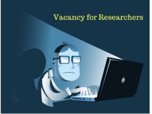 Online Researches needed – MBA in Marketing candidates invited