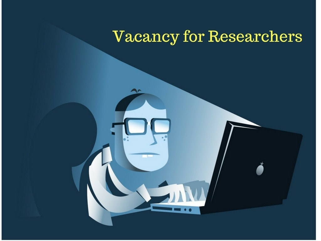 Researchers Needed