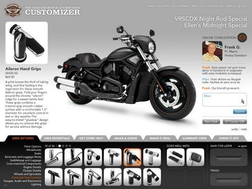 Harley davidson customization