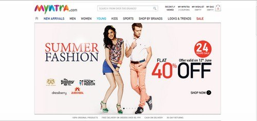 Marketing Mix Of Myntra.Com 2