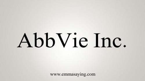 8. AbbVie Inc - $33.27 Billion