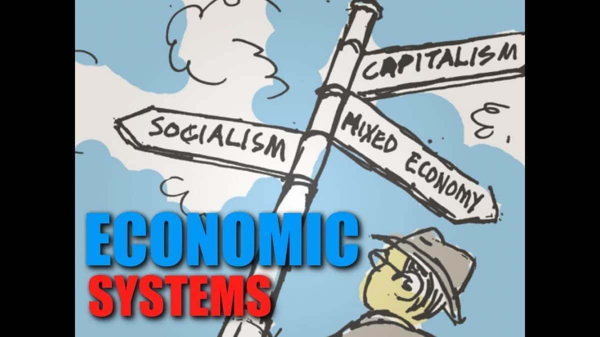 Four Types Of Economic Systems