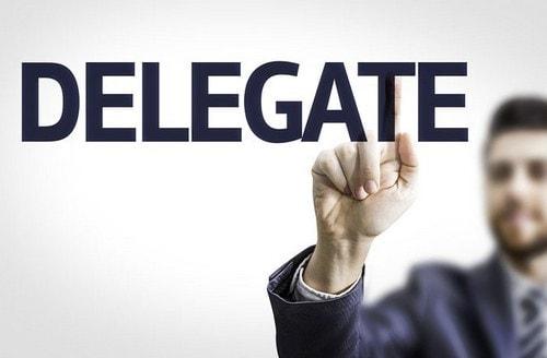 myths about delegation - 2