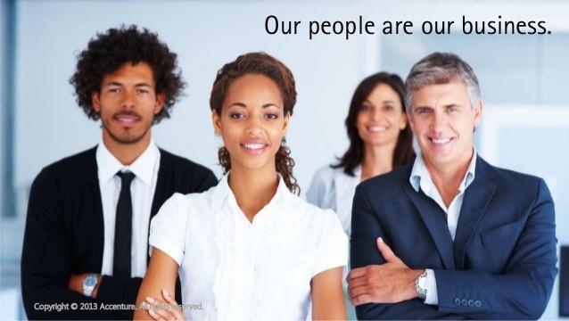 Premium positioning - Accenture