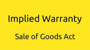 Types Of Warranty and their meaning
