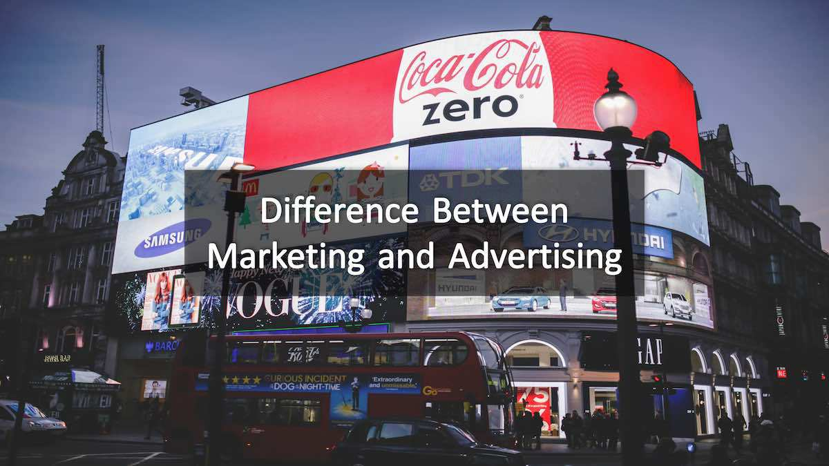 Difference between marketing and advertising 6