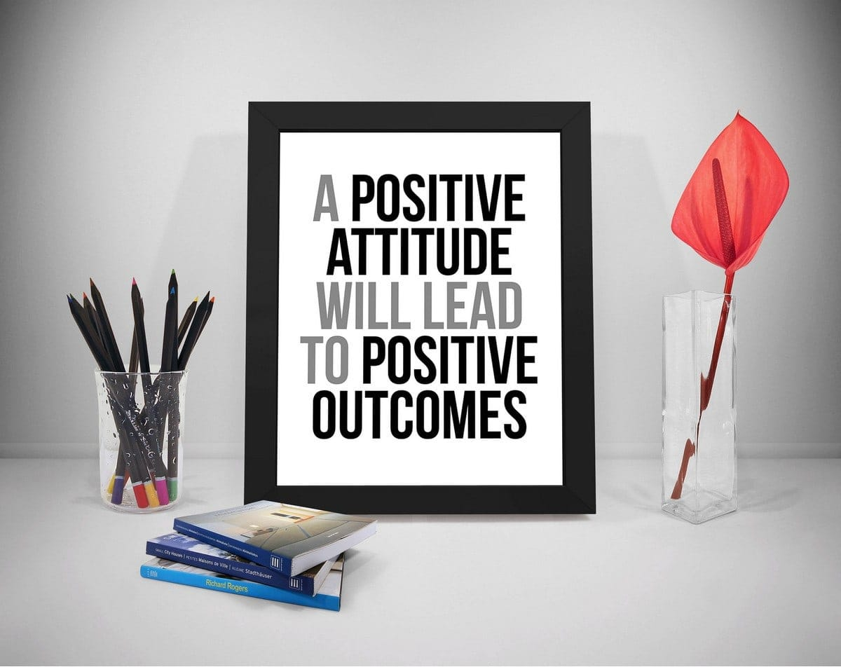 positive attitude at work- 3