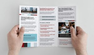 Tri-fold Brochure - 3