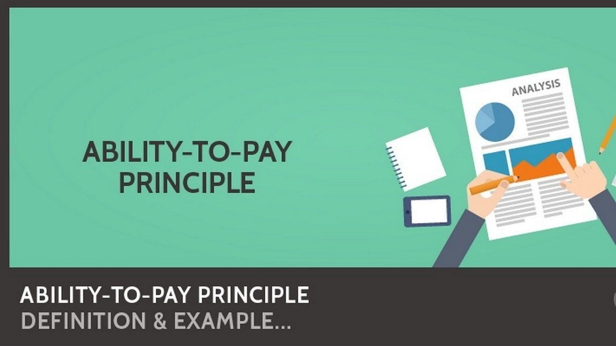 Ability to Pay Principle - 3