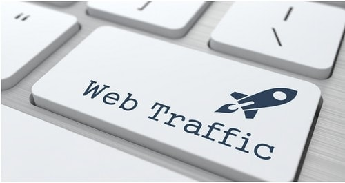 What is meant by Website traffic - 1