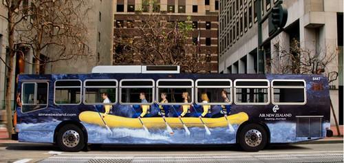 Advertising during transit