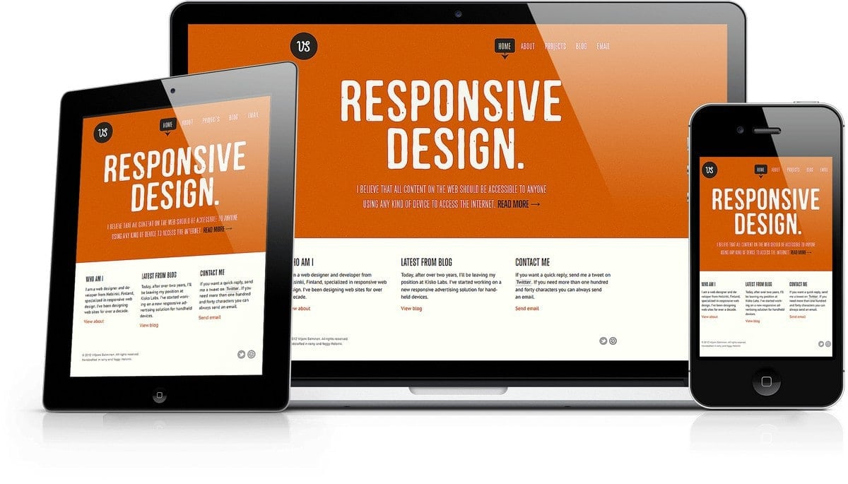 What is Responsive design and Why should you have responsive design?