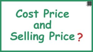 What is selling cost?