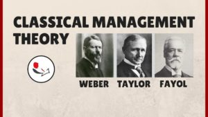 Classical management theory - 3