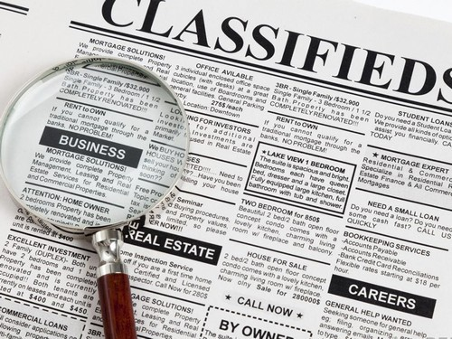 Classified advertising - 2