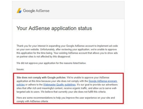 How to get Google adsense approval - 2