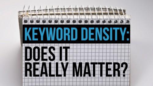 Keyword density - 1