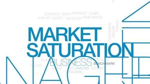 Market saturation - 1