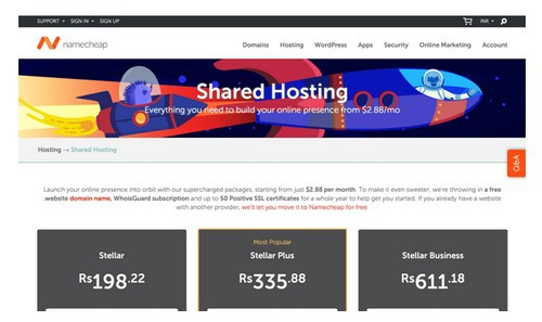 Shared Hosting - 4