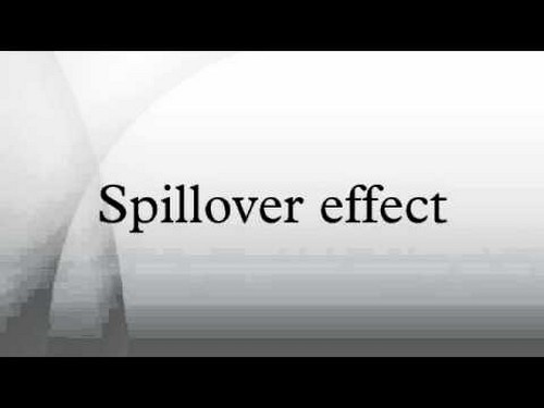 Spillover effect - 3