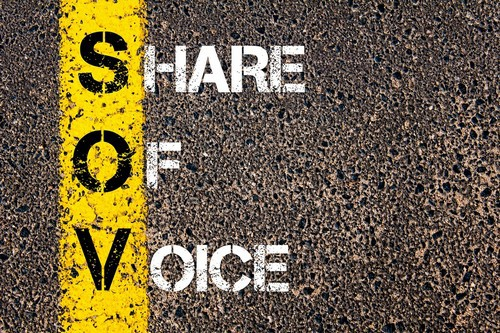share of voice - 1
